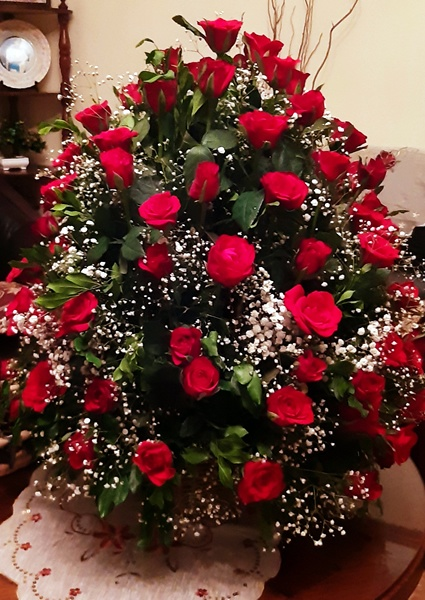50 Roses Delivery Mauritius