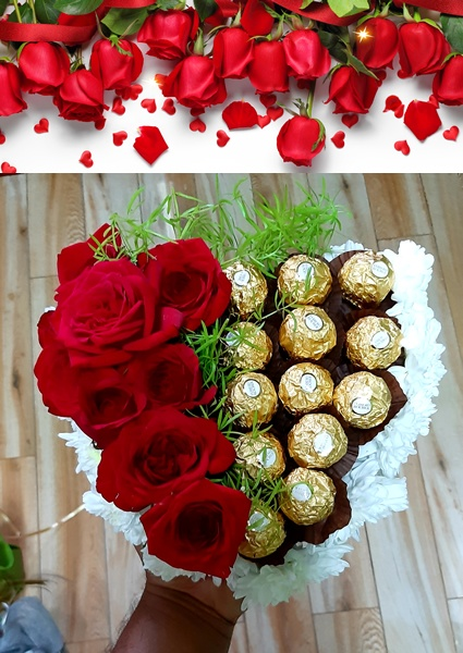 12 Roses Delivery Mauritius